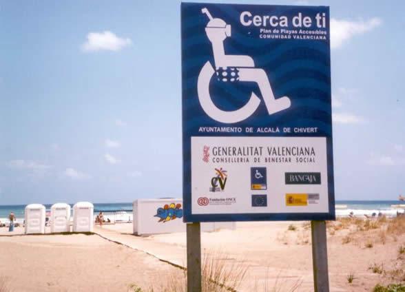 accesibilidad playa