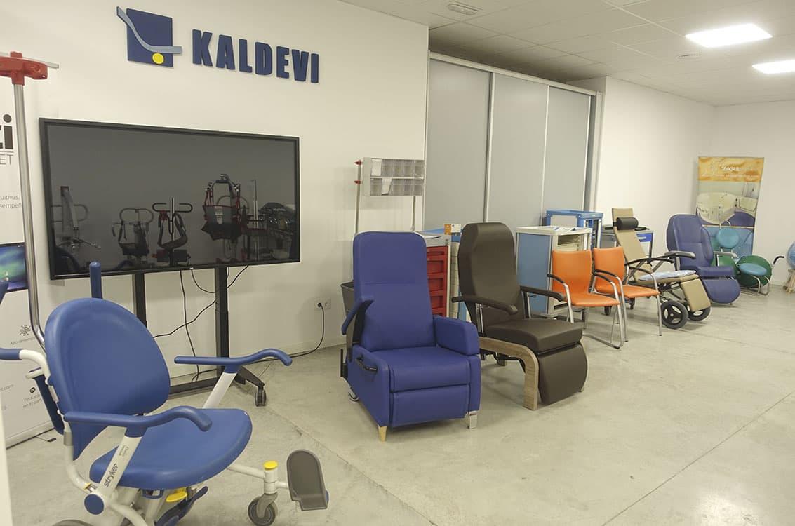 kaldevi expertos en mobiliario para geriatrias y hospitales