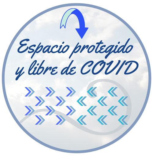 espacio protegido free covid