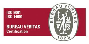 certificado ISO 9001 14001 de 2015